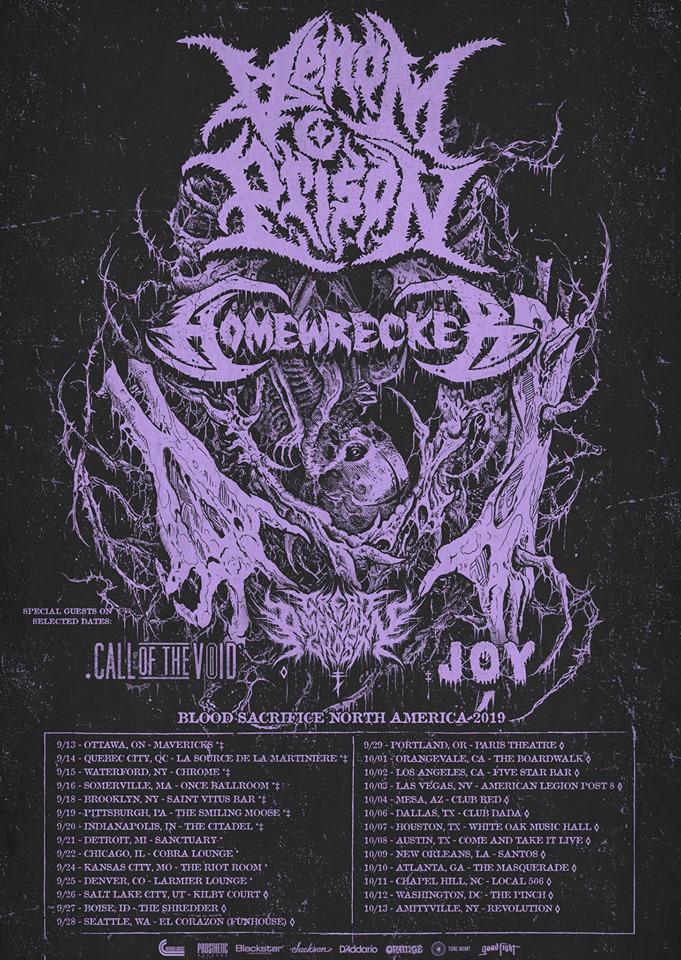 Venom Prison Tour